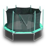 Magic Circle Trampoline and Magic Cage Integrated System