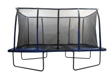 The Upper Bounce Rectangle Trampoline with Fiber Flex Enclosure