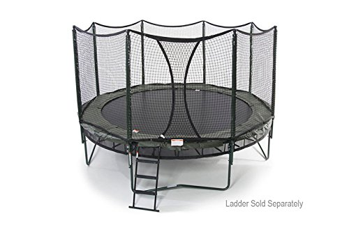 AlleyOOP 14' Power DoubleBounce with integrated Safety Enclosure