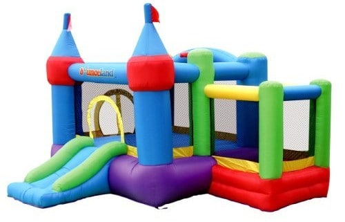 Bounceland Inflatable Dream Castle with Ball Pit Bounce House