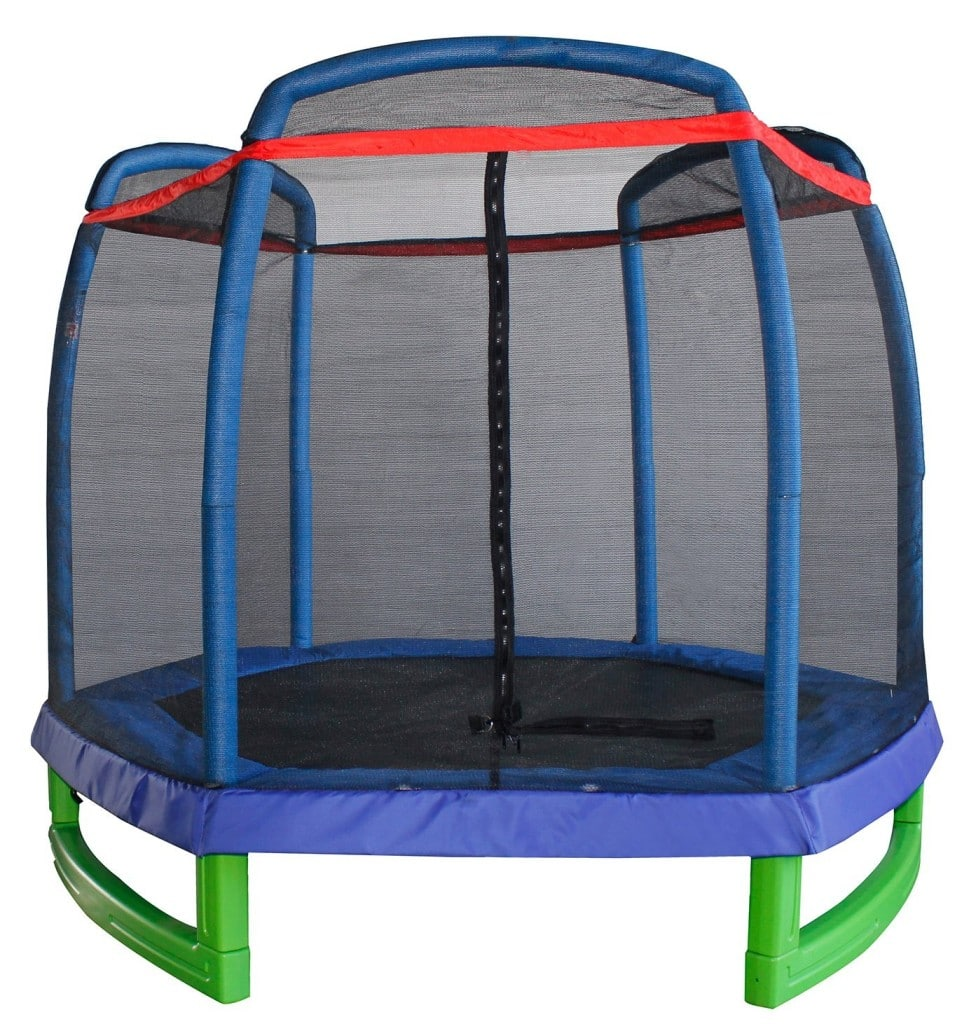 Merax 7FT Kids Trampoline and Enclosure Set