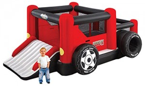 Rock Crawler Inflatable Bouncer with Ball Pit and Double Slide