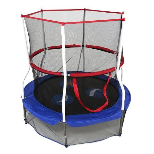 Skywalker Trampolines Round Seaside Adventure Bouncer with Enclosure
