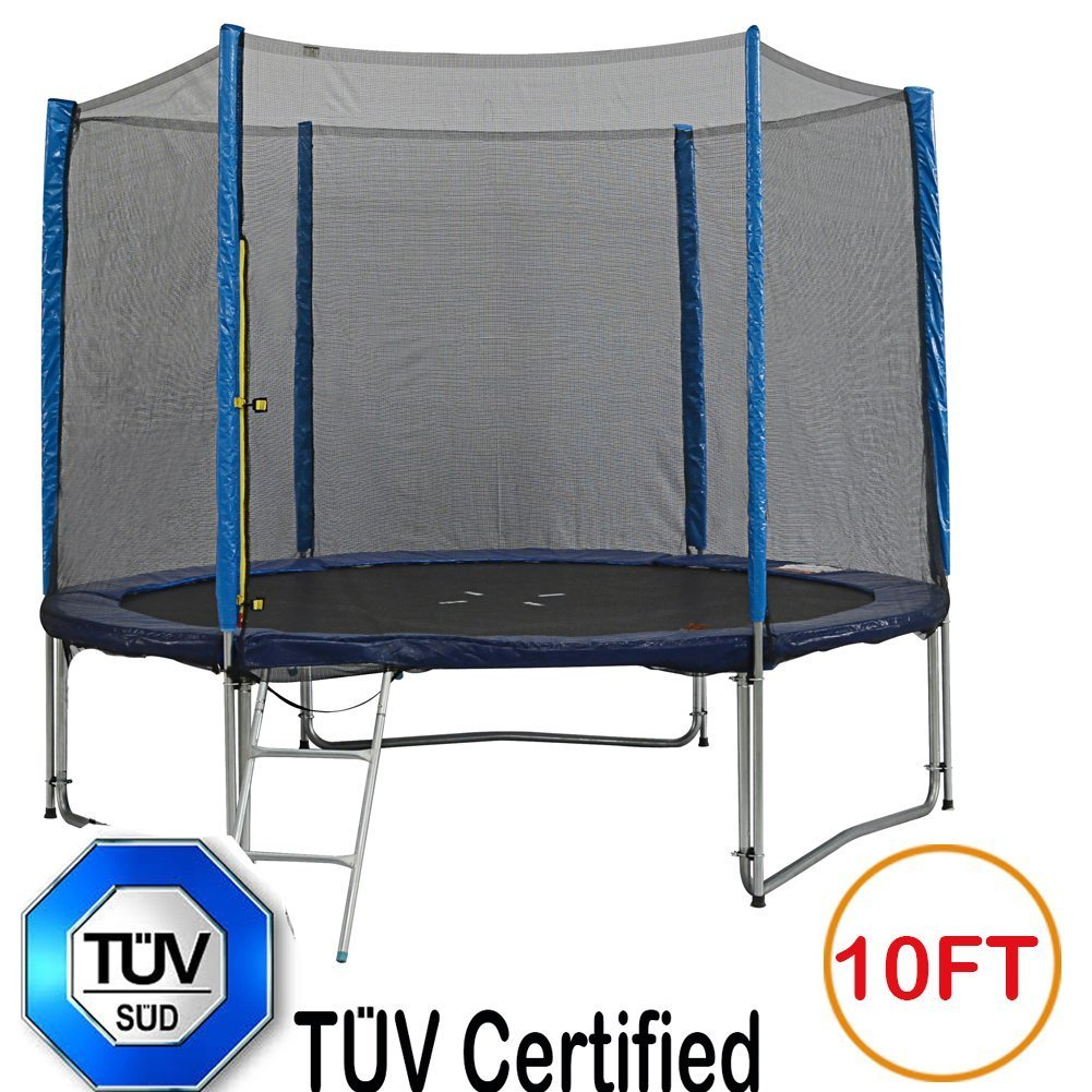 Zupapa TUV Approved Trampoline Combo 10ft