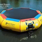 Island Hopper 17 Bounce N Splash Padded Water Bouncer
