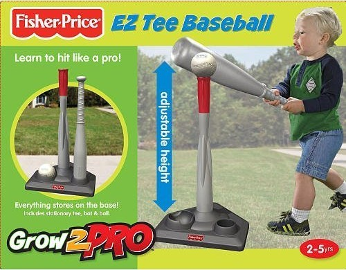 Fisher-Price Grow to Pro Tee Ball Set