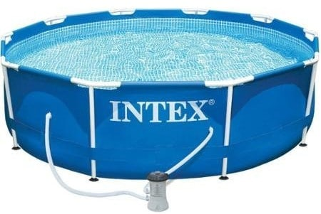 Intex Metal Frame Pool Set, 10-Feet x 30-Inch