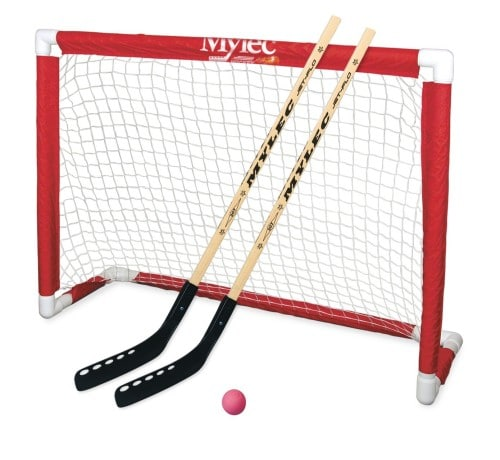 Mylec Deluxe Folding Hockey Goal Set