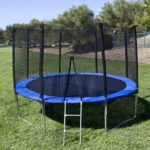 Best Choice Products 12 Round Trampoline Set With Safety Enclosure