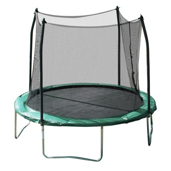 Skywalker Trampolines 10 Ft. Round Trampoline and Enclosure with Spring