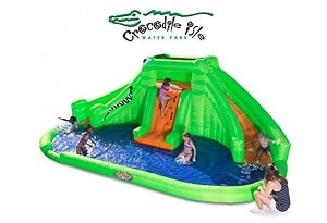Blast Zone Crocodile Isle Inflatable Water Park inflatable trampoline