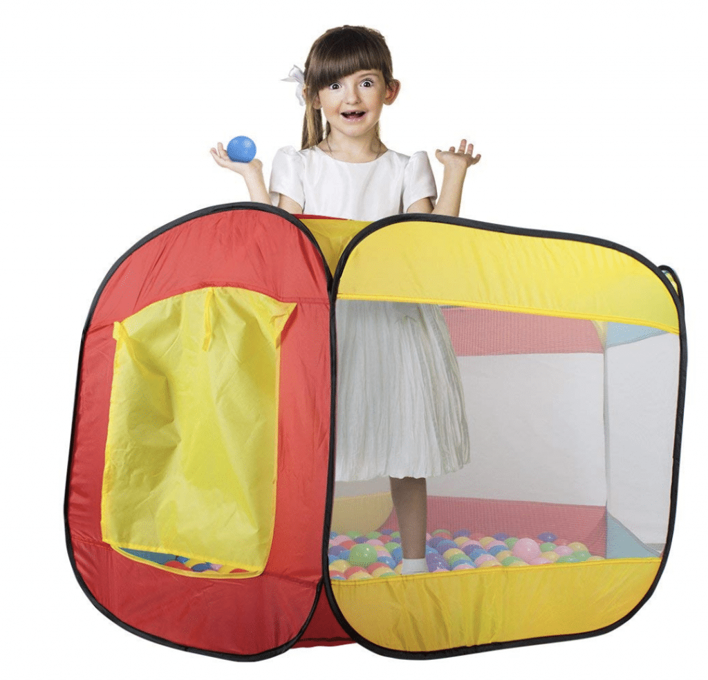 toddler ball pit -  Hexagon Pop Up Ball Pit Tent