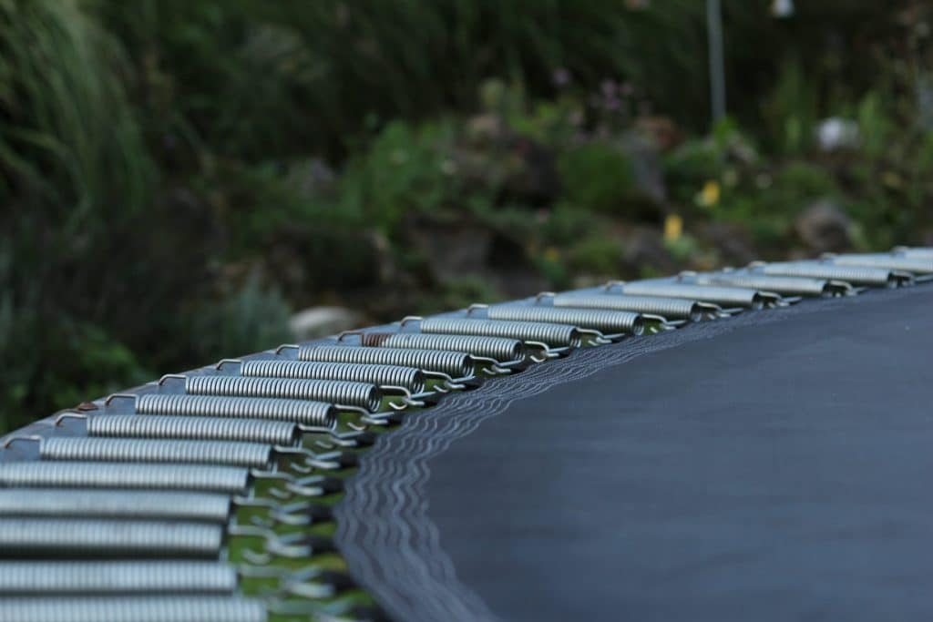 You should perform trampoline care before winter to preserve the springs