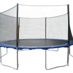 Exacme 6W Legs Trampoline with Safety Pad & Enclosure Net