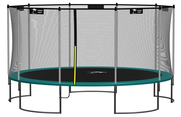 Kangaroo Hoppers 15-Feet Round Trampoline with Safety Net Enclosure and Spring Pad