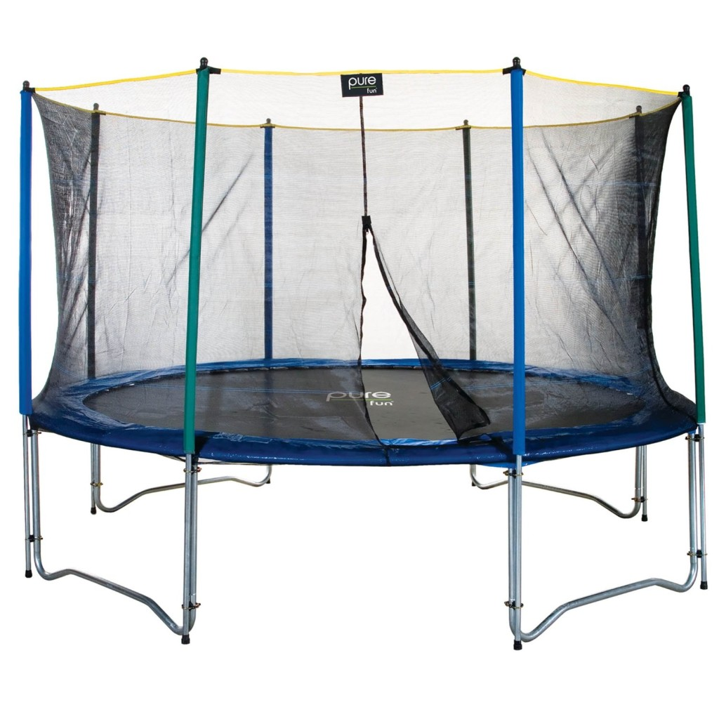 12 foot Pure Fun Trampoline And Enclosure
