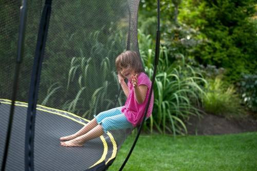 Springfree Large Oval Trampoline Net