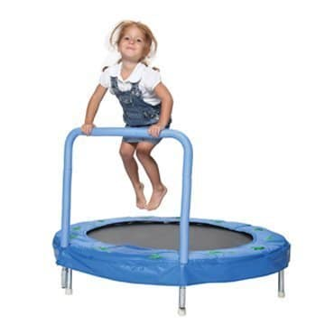 Bazoongi Bouncer Trampoline with Handle Bar