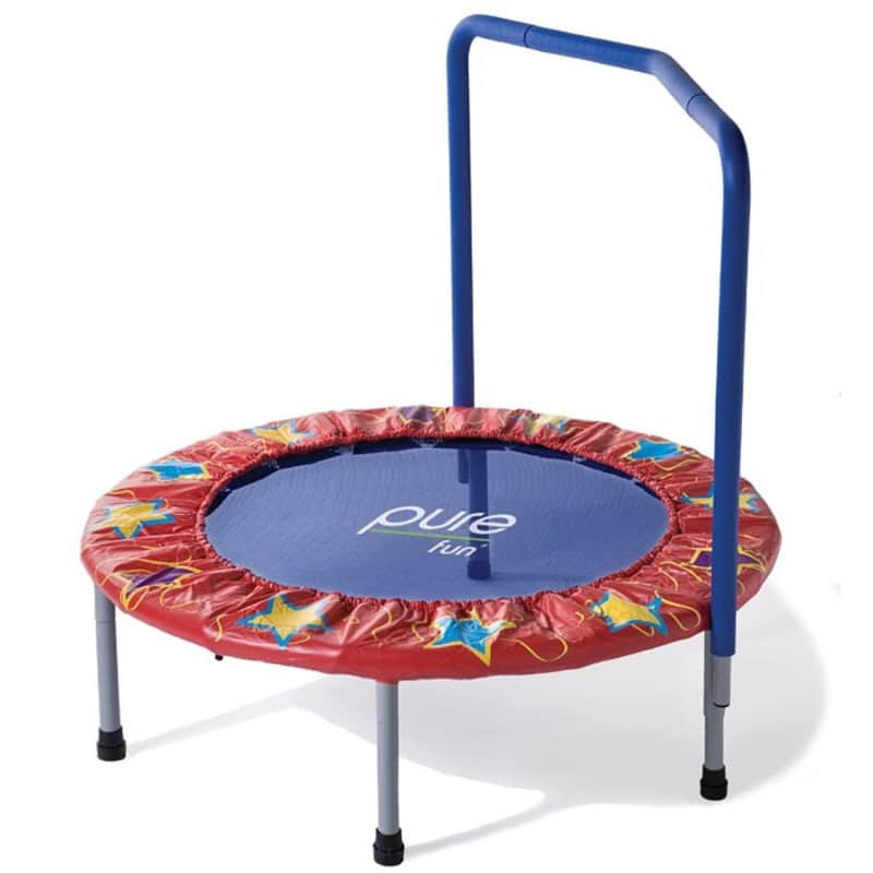 Ladybug 36 inch Mini Trampoline from Pure Fun