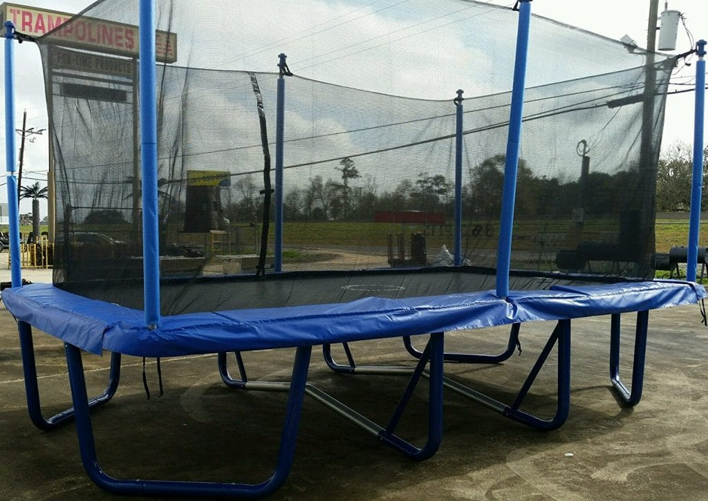 9x16 Rectangle Trampoline with Enclosure