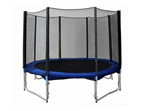 Exacme Trampoline with Safety Pad & Enclosure Net All-in-One Combo Set