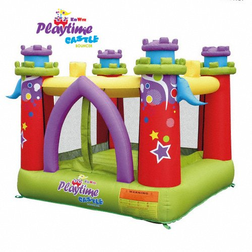 KidWise Playtime Castle Inflatable Bounce House