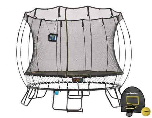 Springfree Trampoline - 10ft Medium Round Smart Trampoline