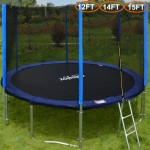 Zupapa TUV Approved Trampoline with Enclosure net