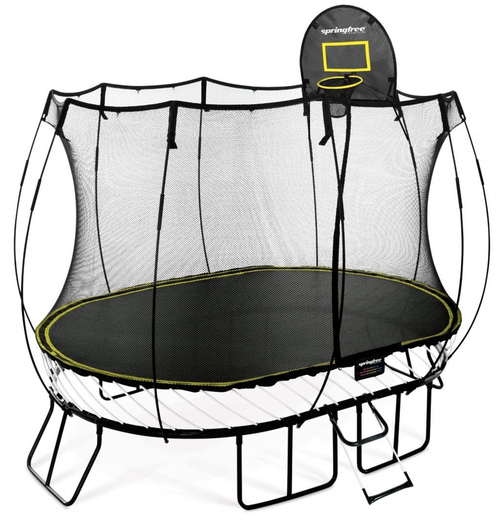 A complete guide to springfree trampolines with reviews 2017 for Springfree trampoline