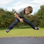 Teach Your Child to Jump Properly on a Trampoline