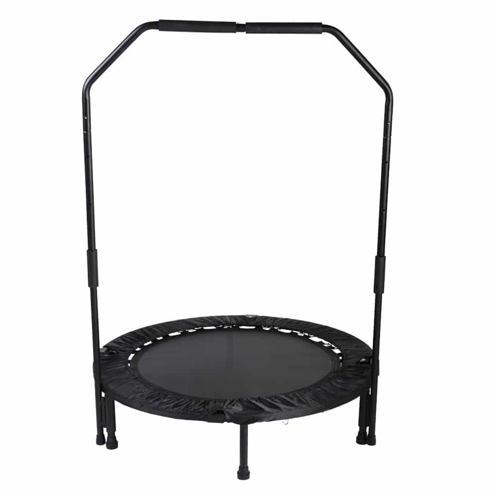 Sunny Health & Fitness 40 Foldable Trampoline with Bar
