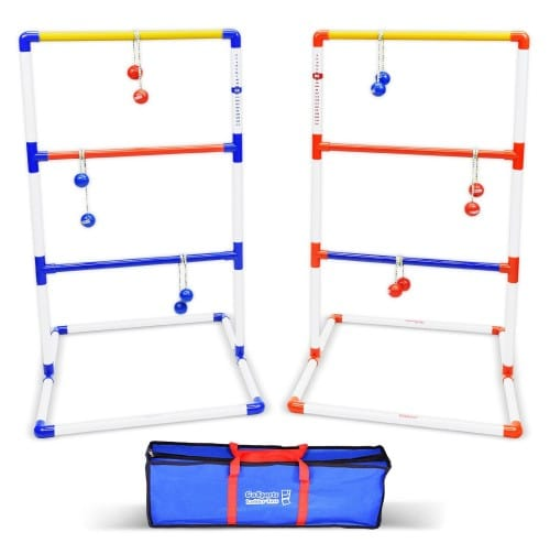 GoSports Premium Ladder Toss Game with 6 Bolos and Carrying Case