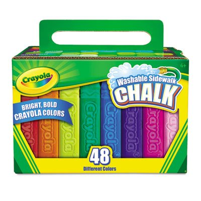 Crayola (2-Pack) Sidewalk Chalk
