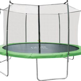 Pure Fun Dura-Bounce 14-Foot Outdoor Trampoline with Enclosure