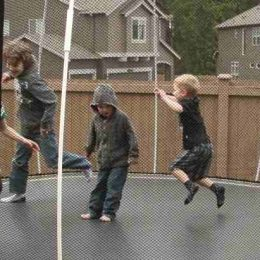 How to Keep Bad Weather from Damaging Your Outdoor Trampoline