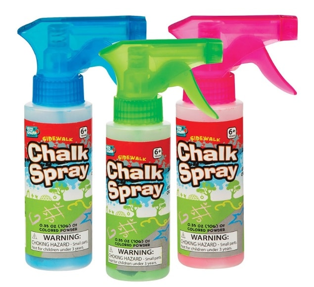 backyard games: Chalk Spray