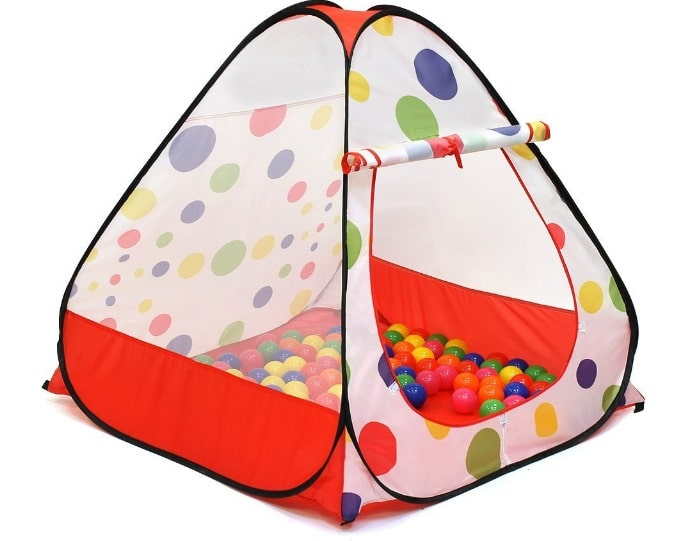 backyard games: Pop-up Tent Ball Pits