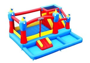 Blast Zone Misty Kingdom Inflatable Bouncer & Water Park inflatable trampoline