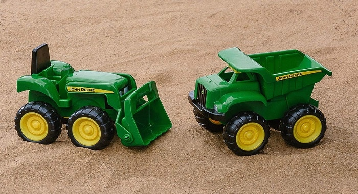 John Deere Sand Vehicles for backyard games