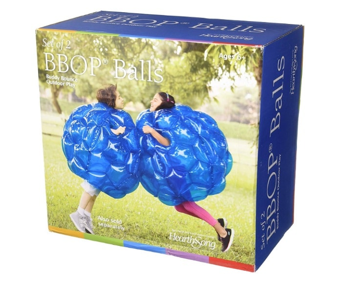 buddy bounce ball as backyard games