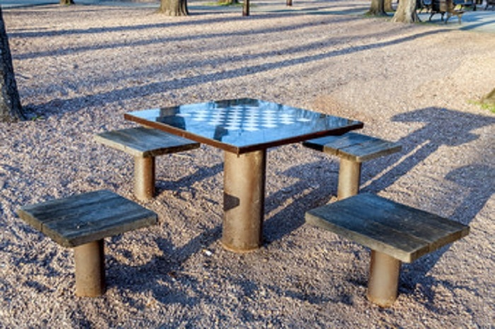 checkers outdoor for backyard games