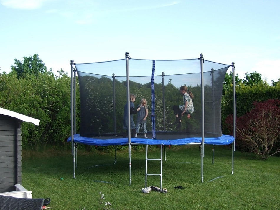 safety measures when doing a cool trampoline tricks