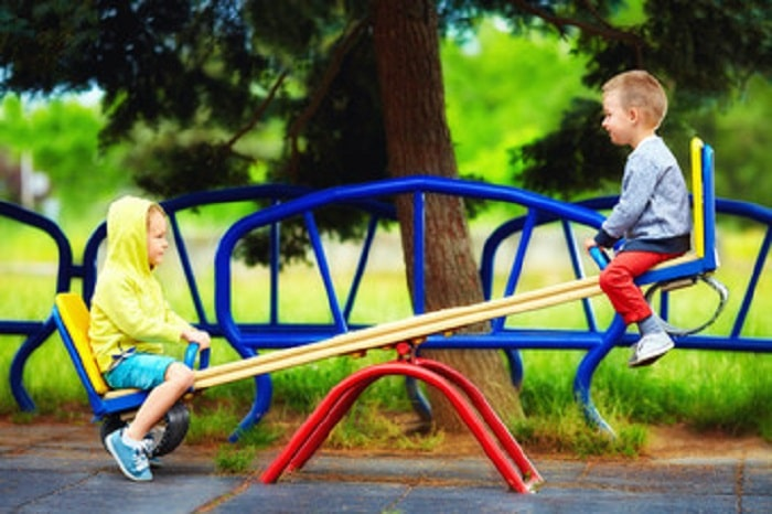 seesaw for backyard games