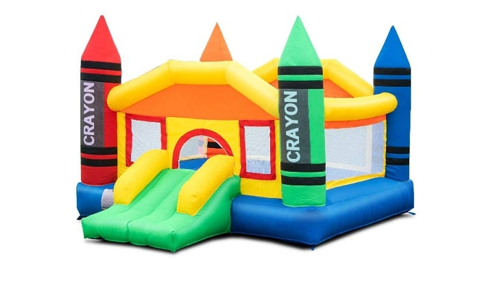 Costzon Inflatable Bounce House as backyard games
