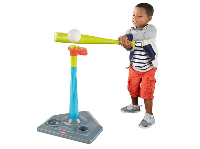 Fisher-Price Grow-to-Pro 2-in-1 Tee Ball as backyard games