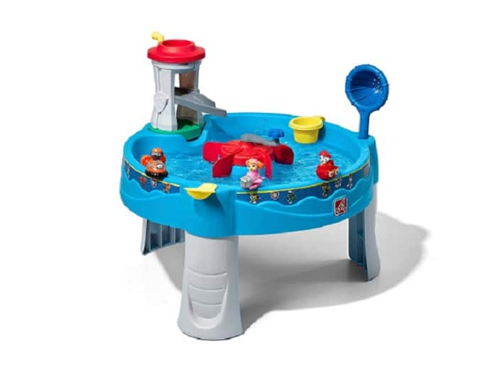 Step2 Paw Patrol Water Table as backyard games