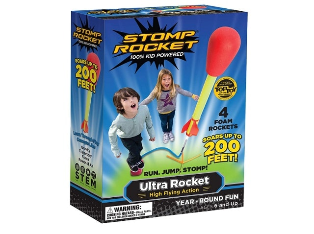 Stomp Rocket Launch as backyard games