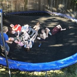fun things to do on a trampoline