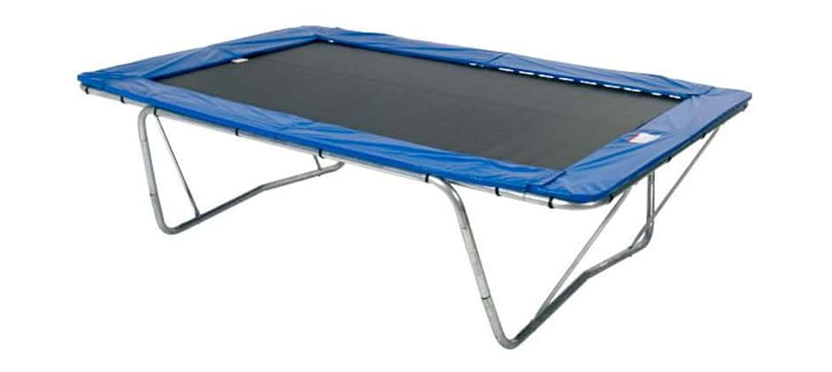 Olympic Rectangle Trampoline - professional trampoline
