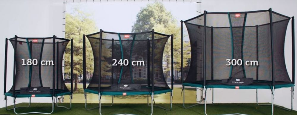 how to measure a trampoline - trampoline frames
